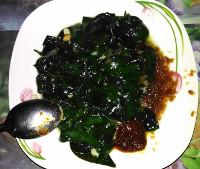 Stir-fried like any pot herb
